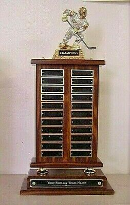 Hockey Perpetual 22 Year Award Trophy Monster New Awesome!