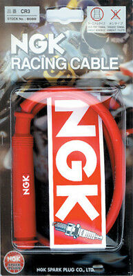 NGK Racing Wire Removable Straight Resistor Cover 50cm Spark Plug Wire 8035 CR1