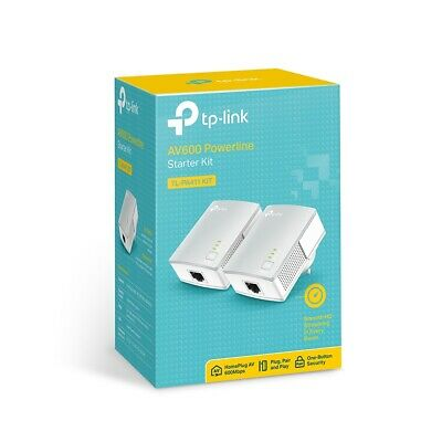 TP-Link AV500 500Mbps Mini Powerline Ethernet over Power EoP Twin TL-PA411Kit