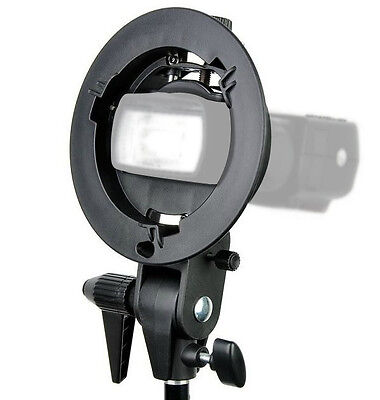PRO Godox S-Type Bracket Bowens S Mount Holder for Speedlite Flash Snoot Softbox