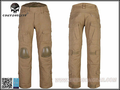 EMERSON G3 Combat Pants with Knee Pads (CB) (Size optional) EM6987