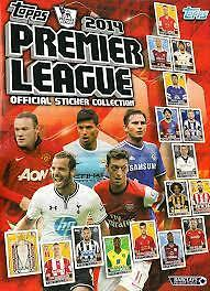Topps 2014 Premier League Official Sticker Collection