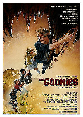 The Goonies (1985) - A1/A2 Poster **BUY ANY 2 AND GET 1 FREE OFFER**