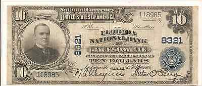 1902 $10 National Bank Note (s15)