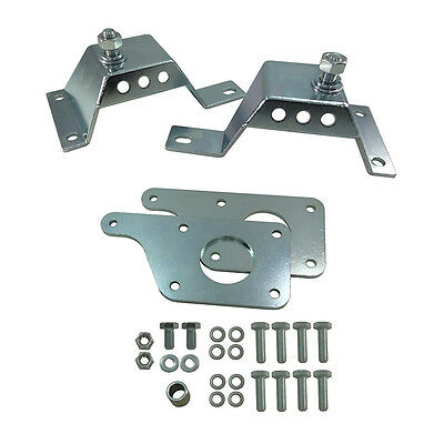 UPR 3013-09 Ford 1979-2004 Mustang 4.6L LS Swap Engine Mount Adapter Plate Kit