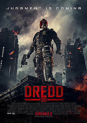 Dredd (2012) V2 - A1/A2 Poster **BUY ANY 2 AND GET 1 FREE OFFER**