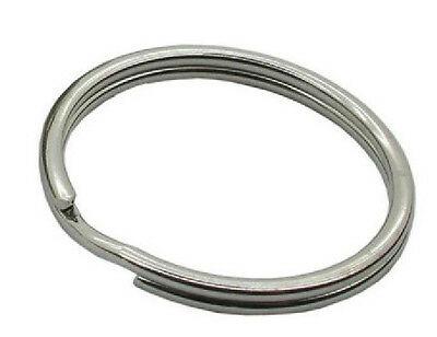 24 / 25 mm Nickel Split Ring / Key Ring / O Ring  1 , 2 , 5 , 10 , 25 , 50 100