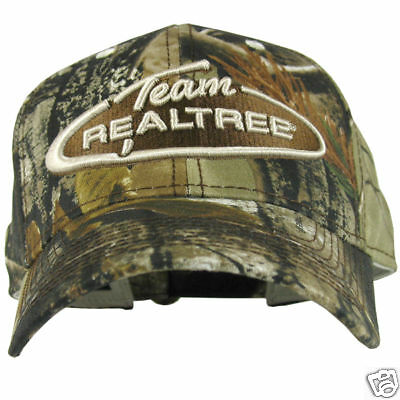 Team Realtree Classic Logo Deluxe AP Camo Cap Hat - New with tags - AA218AP