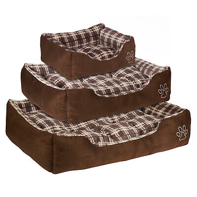 Me & My Super Soft Brown Dog/puppy/pet Bed Luxury/comfy S/m/l Small/medium/large