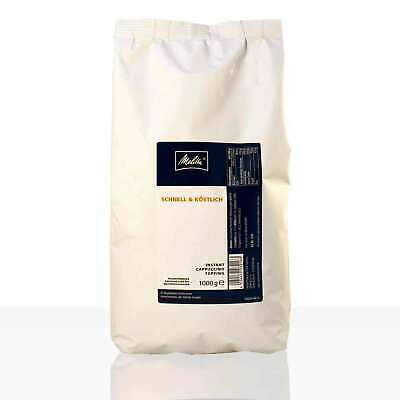 Melitta Cappuccino Topping Milchpulver 1000g