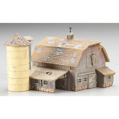 NEW Woodland Scenics Old Weathered Barn N BR4932