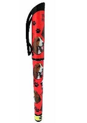 Basset Hound Gel Pen Refillable Black Gel Ink Dog Gift