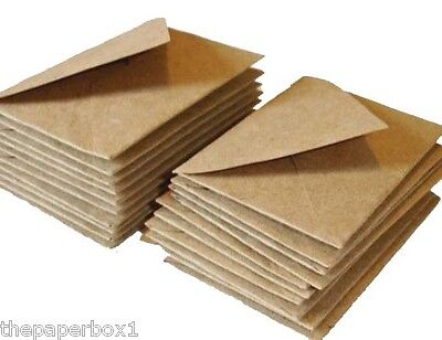 Kraft Fleck Envelopes, brown, recycled - choice of size & quantity