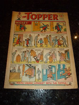 THE TOPPER Comic - Issue No 414 - Date 07/01/1961 - UK Paper Comic