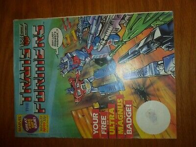 The TRANSFORMERS Comic - No 99 - Date 07/02/1987 - UK Marvel Paper Comic