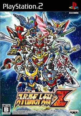 USED PS2 Super Robot Taisen Z  Playstation 2