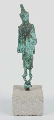 Cast Bronze Limited Edition Reproduction Of A Haruspex From 4Th Century Bc