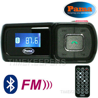 Pama PNG112 A2DP Stereo Bluetooth Handsfree HGV Car Kit with MP3 FM Transmitter