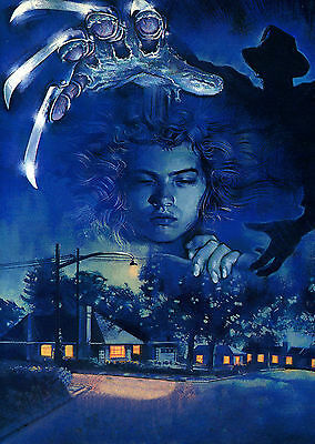 Nightmare On Elm Street - A1/A2 Poster **BUY ANY 2 AND GET 1 FREE OFFER**
