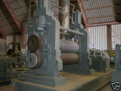 """65"""" WEAN-UNITED Embossing Roll Stand Machine"""