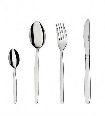 NEW Oslo Stainless Steel Cutlery Set 48 Piece Knife Fork Spoon Teaspoon
