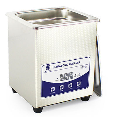 2 Liter,Stainless Steel Industry Heated Ultrasonic Cleaner Heater Timer