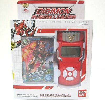 NEW Bandai Digimon Xros Wars RED Fusion Loader Digivice Date Link English NEO