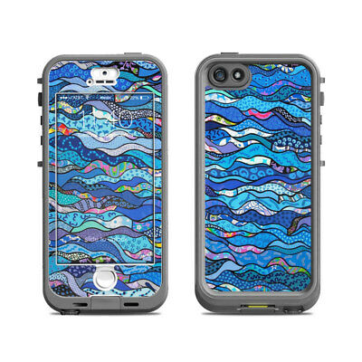Skin for LifeProof Nuud iPhone 5S - The Blues by Allison Gregory - Sticker Decal