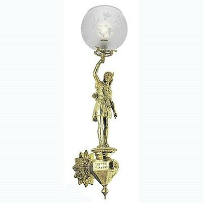 Victorian Style Antique Reproduction Female Sconces Wall Lighting (632-MAG-ES)