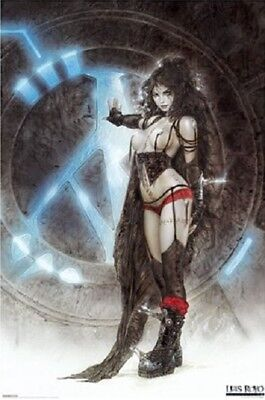 Luis Royo Pinup POSTER (61x91cm) Gothic Machine Girl Picture Print New Art