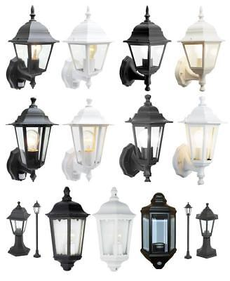 Traditional Garden Wall Lights Lanterns Outdoor Lights Exterior Garden Lights
