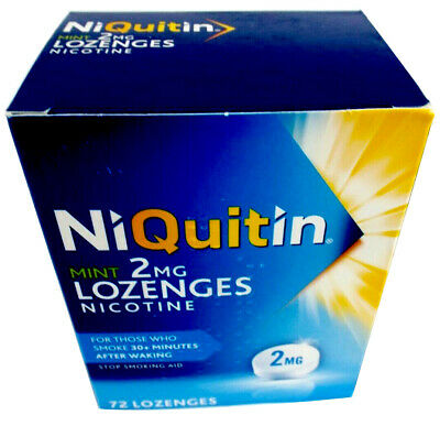 Niquitin Lozenges 2mg Mint - 72 Lozengess Available In Multiple Saving Packs