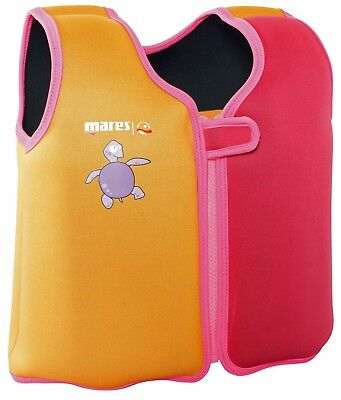 Mares Removable Buoyancy CHILD'S Kids LEARN TO SWIM Swimming Vest / AID - PINK