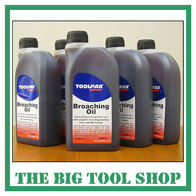 Rotabroach Cutting Fluid / Oil 1 ltr Rotabux Broach Lubrication Oil
