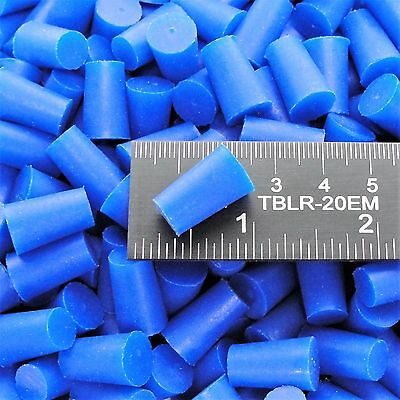 """(25) 11/32"""" x 7/16"""" High Temp Silicone Tapered Rubber Plugs Powder Coating Paint"""