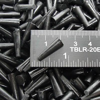 "(250) 1/8"" x 1/4"" High Temp Silicone Rubber Powder Coating Plugs Cerakote Paint"