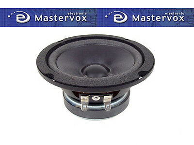 "Pair Of Quality Open Back Mid-Range Speaker 4"" 30W 8Ohm  (Low freq mid-range)"