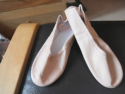 Pink leather full sole ballet shoes - Assorted brands all sizes
