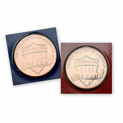 """2010 P+D  Lincoln Shield """"Satin"""" Penny Set in Original Mint Wrappers"""