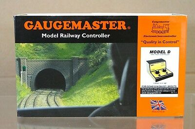 GAUGEMASTER MODEL D TWIN TRACK POWER TRAIN CONTROLLER TRANSFORMER MIB na