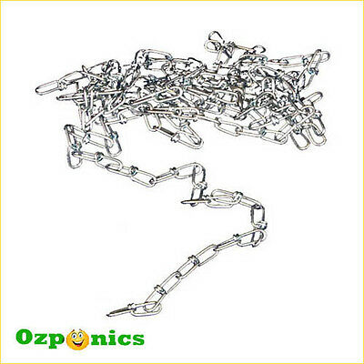 Heavy Duty Hanging System Jack Chain For Indoor Lighting Growroom Of 30 Meter