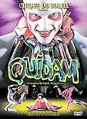Cirque du Soleil - Quidam (DVD, 1999, Widescreen) *Little H2O Damage to Artwork*