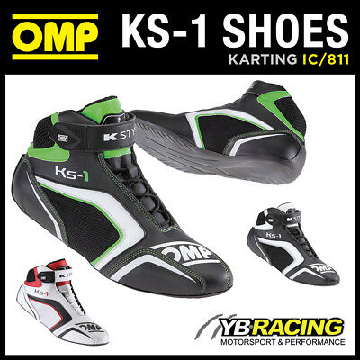 SALE! IC/811 OMP KS-1 KS1 KART KARTING RACE BOOTS in 3 COLOURS!