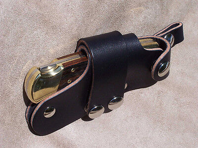 Quick Draw Release Leather Knife Sheath Original Quickdraw for Buck 110 Knives