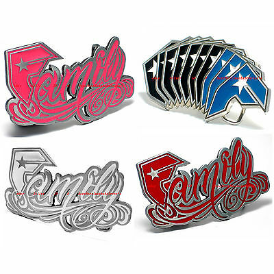 Sbum0038 Famous Stars And Straps Family F Belt Buckle