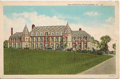 The Chateau Montpelier VT Postcard