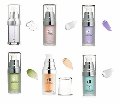 E.L.F. Studio Mineral Infused Face Primer Poreless Blemish choose color NIB ELF