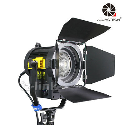 5500K 50W LED Fresnel Spot Continuous Lighting For Flim Video Studio Photography