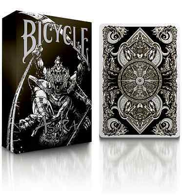 Asura Black Bicycle Deck Playing Cards By Uspcc & Card Experiment Magic Tricks