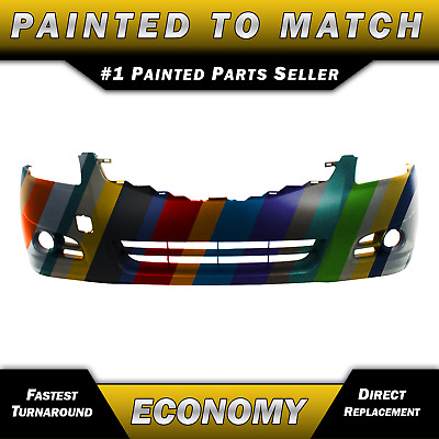 NEW Painted to Match - Front Bumper Cover for 2010 2011 2012 Nissan Altima Sedan